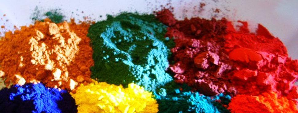 Pigmentos varios